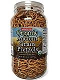 Hanover Organic Ancient Grains Spelt Pretzels, 28 Oz. Barrel