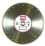 Multiquip 14GPTM Standard Turbo Rim Diamond Blade, 14-Inch x 0.125-Inch