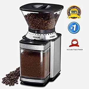 Paksh Novelty Automatic Coffee Grinder - Brushed Stainless Steel from Paksh