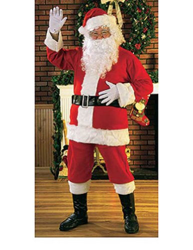 Santa Suit Adult Mens Christmas Costume