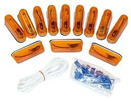 Blazer C487CAK Side Marker Light Kit- Amber