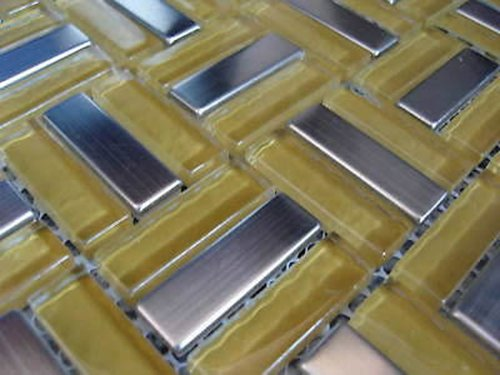 FLIESENTOPSHOP Sonderpreis Abverkauf Glasmosaik Edelstahlmosaik Fliesen Mosaik Metallmosaik4
