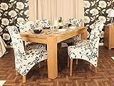 Oakworld Niagara Oak 5ft Dining Table & 6 x Chairs, width 150cm