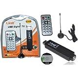 RICEVITORE DIGITALE TERRESTRE ANTENNA PENNA USB PC DVB-T DECODER NOTEBOOK LINQ