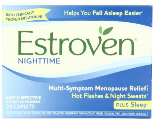 Estroven Nighttime, 24 Caplets (Pack Of 3)