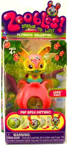 Zoobles Toy Petagonia Animal Mini Figure #3 Ears - 1