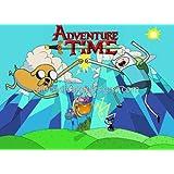Adventure Time Birthday Edible Image Cake or Cupcake Topper