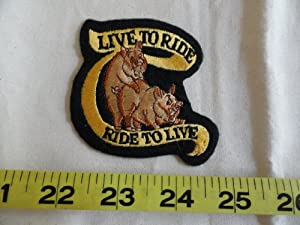 Live to Ride - Ride to Live Patch