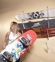 XSR Board and Ski Storage Rack, White, 48 in.