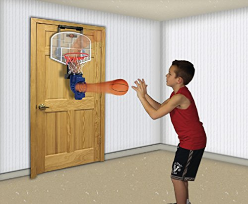Franklin sports shoot again basketball set w ball return for Basketball hoop for kids room