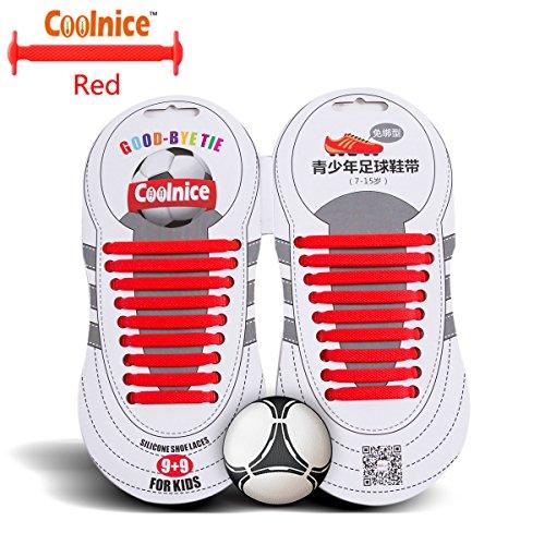 coolnice-sport-lacci-elastici-no-tipo-tie-forma-piatta-macchia-resistente-colore-rosso-silicone-ambi