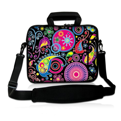 15 Inch Colorful Swirls DOUBLE Sided Print Pattern