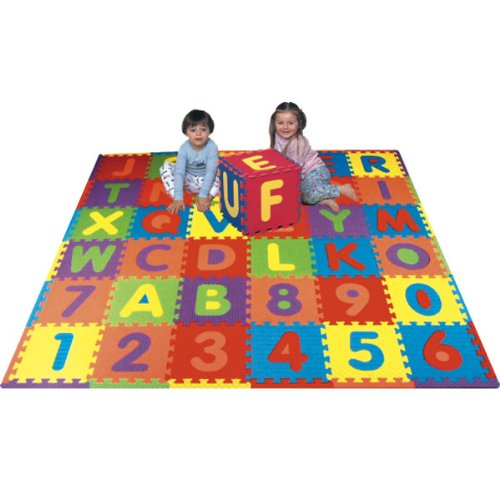 Cheap Fun Alphabet, Numbers & Animals Playmat – Covers 40 sq ft (B000CNESAI)
