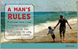img - for A Man's Rules book / textbook / text book