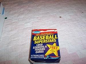 1987 Fleer LE Baseball Superstars Trading Card Factory Set