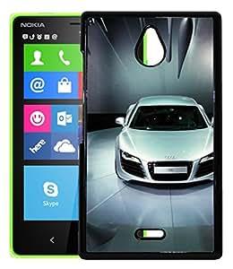 FCS Printed 2D Designer Hard Back Case For Nokia X2 -10561