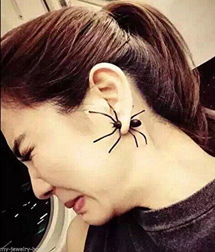 ILOVEDIY Boucles d'oreilles Fantaisie Costume Deguisement Araignée pour Femme (1Pc)