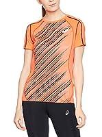 Asics Camiseta Manga Corta Ti (Naranja)