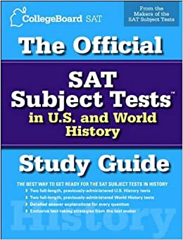 History college confidential subject tests