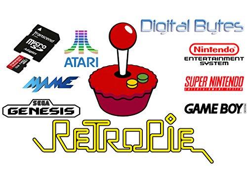 RetroPie 4.1 16GB MicroSDHC Card for Rapsberry Pi 3 and 2 (Samsung Mini Sd Card 16gb compare prices)
