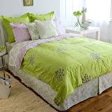 Amy Butler Modena 300 Thread Count Embroidered Duvet