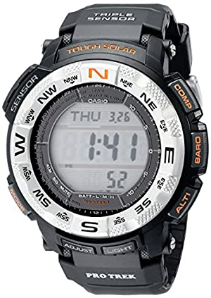Casio Men's PRG260-1 Pro-Trek Watch with Black Band