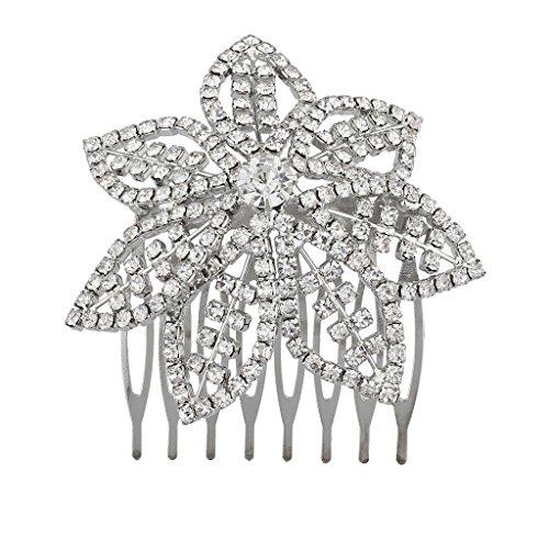 lux-accesorios-color-dorado-y-pave-bling-flor-novia-novia-metal-hair-comb-pin