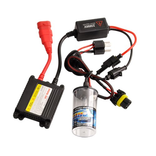 Hid Xenon Bulbs H4-2 55W Conversasion Kit 6000K For Trouble Light Replace