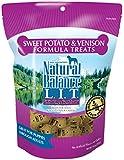 Natural Balance L.I.T. Limited Ingredient Treats Sweet Potato & Venison Formula Dry Dog Treats, 14-Ounce