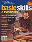 The Best of Fine Woodworking Basic Skills & Techniques Spring 2013 (Learn to cut mortises tenons & dovetails)