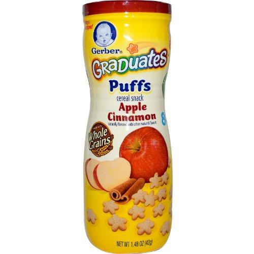 Graduates Puffs, Apple Cinnamon, 1.48 oz (42 g)