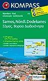 Samos - Nördlicher Dodekanes: Wanderkarte mit Radrouten. GPS-genau. 1:50000 (KOMPASS-Wanderkarten)