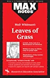 Leaves of Grass: (MAXNotes Literature Guides) (0878912274) by Kelly, Kevin