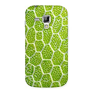 Green Lemon Print Back Case Cover for Galaxy S Duos