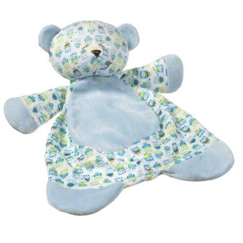Ganz Sleepytime Bear Baby Blanket, 17-inch, Blue - 1