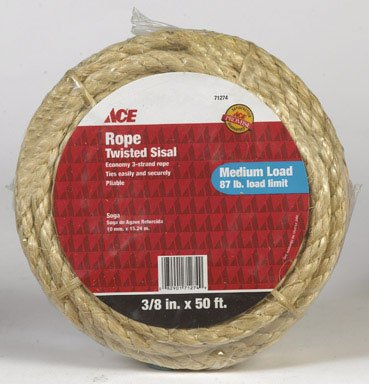 Ace sisal rope 71274 for Design your own cat tree