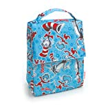 Bumkins Lunch Bag, Blue Cat in the Hat