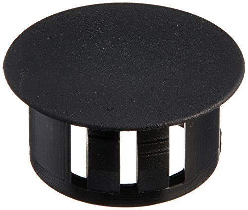 Morris 22388 Plastic Knockout Plug, 5/8-Inch, Black, 10-Pack (2 Knockout Plug compare prices)