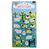 Sheep Felt Stickers Create Your Own Scene Art Crafts Room Decoration