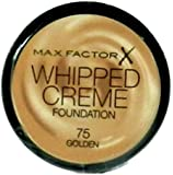 Max Factor Whipped Creme Foundation 75 (golden)18ml Makeup Base For Women Beauty