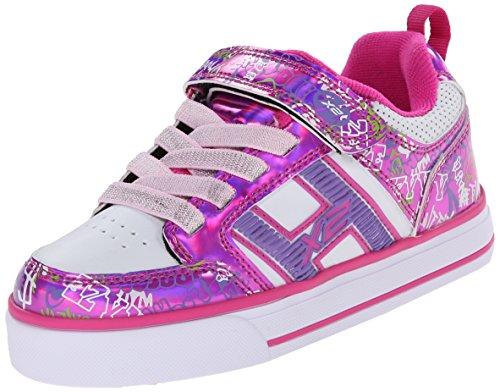 Heelys Bolt Skate Shoe (Little Kid/Big Kid), Fuchsia/White ...
