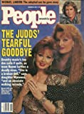 img - for People Weekly (The Judds' Tearful Goodbye , Naomi Judd & Wynonna Judd, December 9 , 1991) book / textbook / text book