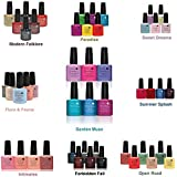 CND Shellac UV Gel Soak Off Nail Polish Choose From 89 Colours Inc All the Collections & The New Garden Muse Collection(Allthingsbountiful)