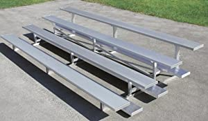 Trigon Sports Bl321lr 3 Row 21 Ft Low Rise Bleacher by Trigon Sports
