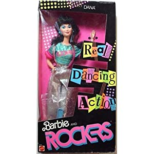 Barbie and the Rockers Dana Doll