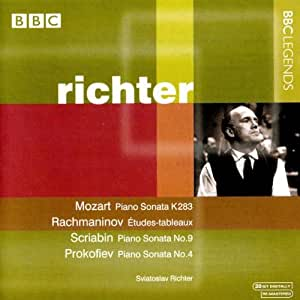 Richter, Sviatoslav:  Mozart,