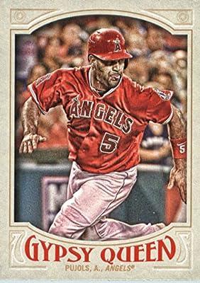 2016 Topps Gypsy Queen #5 Albert Pujols Los Angeles Angels Baseball Card