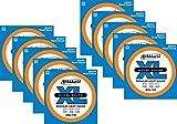 10 sets D\'Addario EXL110 Nickel Electric Guitar Strings EXL110-10