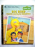img - for Big Bird Visits Navajo Country (A Little Golden Book) book / textbook / text book