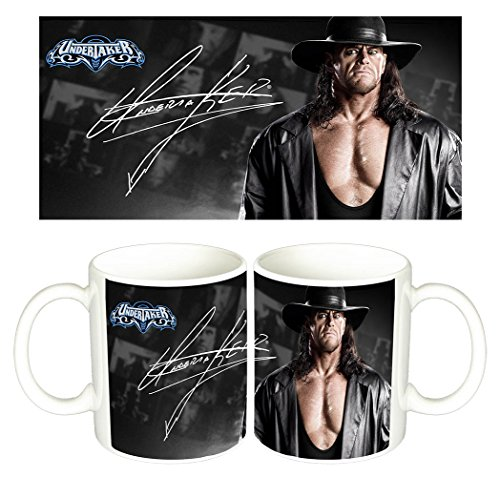 The Undertaker WWE Wrestlemania A Tazza Mug
